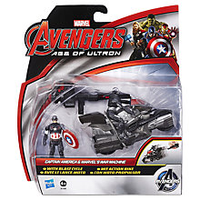 Buy Avengers Age of Ultron Captain America & Marvel's War Machine Action Figures Online at johnlewis.com