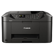 Buy Canon MAXIFY MB2050 All-in-One Wireless Printer & Fax Machine Online at johnlewis.com