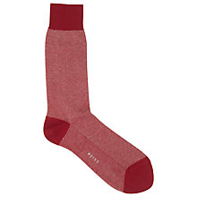 Buy Reiss Cecco Stitch Detail Socks, One Size Online at johnlewis.com