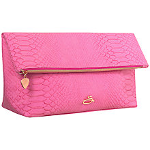 Buy Sanctum Soho Rose Slouching Wash Bag, Pink Online at johnlewis.com