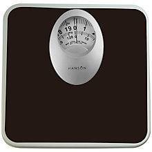 Buy Hanson Black Mechanical Scale Online at johnlewis.com