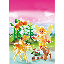 Buy Playmobil Princess Autumn Fairy Princess With Pegasus Online at johnlewis.com