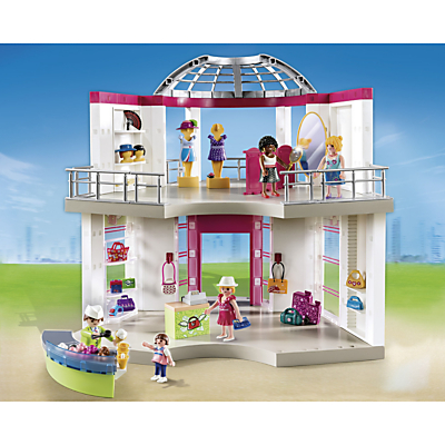 Click here for Playmobil City Life Shopping Centre