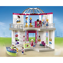 Buy Playmobil City Life Shopping Centre Online at johnlewis.com