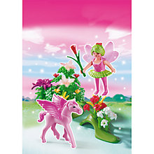 Buy Playmobil Princess Spring Fairy Princess With Pegasus Online at johnlewis.com
