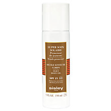 Buy Sisley Super Soin Solaire Silky Body Oil SPF15, 150ml Online at johnlewis.com