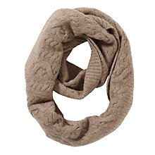 Buy John Lewis Made in Italy Cashmere Cable Knit Snood Online at johnlewis.com
