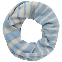 Buy John Lewis Made in Italy Cashmere Stripe Snood Online at johnlewis.com