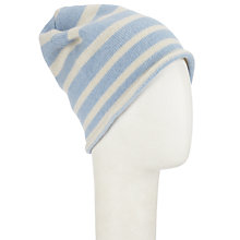 Buy John Lewis Made in Italy Cashmere Stripe Beanie Hat Online at johnlewis.com