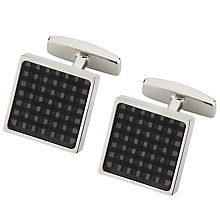Buy BOSS Jamil Square Cufflinks Online at johnlewis.com