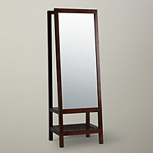 Buy Willis & Gambier Kerala Leaning Mirror, Rich Cherry Online at johnlewis.com