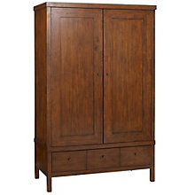 Buy John Lewis Kerala 2 Door Wardrobe, Rich Cherry Online at johnlewis.com