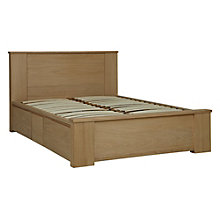 Buy Willis & Gambier Keep Storage Bedstead, Double, Oak Online at johnlewis.com
