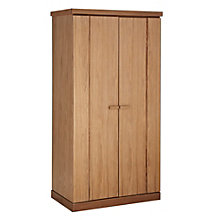 Buy John Lewis Keep 2 Door Wardrobe, Oak Online at johnlewis.com