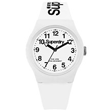 Buy Superdry Unisex Urban Silicone Strap Watch Online at johnlewis.com