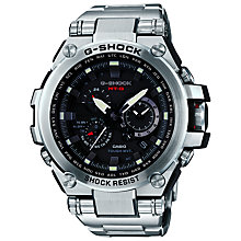 Buy Casio MTG-S1000D-1AER Men's G-Shock Watch, Silver/Black Online at johnlewis.com