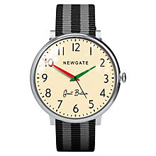 Buy Newgate WWLCLBVS002 Club Unisex Stainless Steel Canvas Strap Watch Online at johnlewis.com