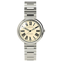 Buy Newgate WWSLBTVS014BVS Liberty Unisex Stainless Steel Bracelet Watch, Silver Online at johnlewis.com