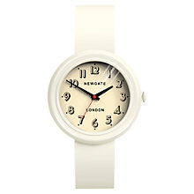 Buy Newgate Unisex Corgi Stainless Steel Silicone Strap Watch Online at johnlewis.com
