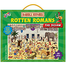 Buy Horrible Histories Rotten Romans Puzzle Online at johnlewis.com