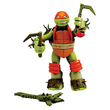 Buy Teenage Mutant Ninja Turtles Mystic Michelangelo Action Figure Online at johnlewis.com
