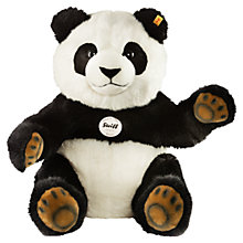 Buy Steiff Pummy Panda Bear, 45cm Online at johnlewis.com
