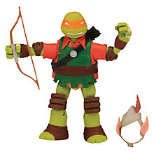 Buy Teenage Mutant Ninja Turtles Mike The Elf Action Figure Online at johnlewis.com