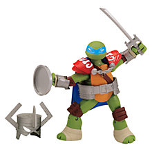 Buy Teenage Mutant Ninja Turtles Leo Knight Action Figure Online at johnlewis.com