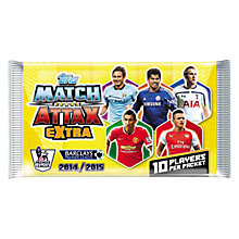 Buy Match Attax Extra Barclays Premier League 2014/15, Assorted Online at johnlewis.com