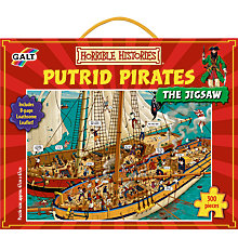 Buy Horrible Histories Putrid Pirates Puzzle Online at johnlewis.com