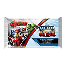 Buy Avengers Age of Ultron Hero Attax Trading Card Game Single Packet Online at johnlewis.com