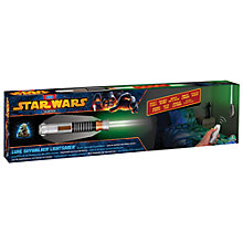 Buy Stars Wars Luke Skywalker Lightsaber Room Light Online at johnlewis.com