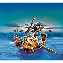 Buy Playmobil Eggs Pirate With Rowing Boat Online at johnlewis.com