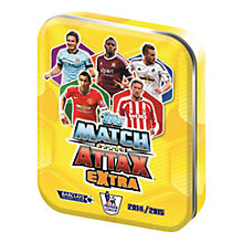 Buy Match Attax Trading Cards Game Extra Tin, 2014/15 Barclays Premier League Online at johnlewis.com