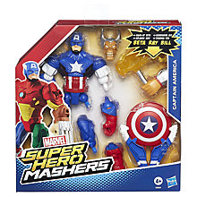 Buy Marvel Super Hero Mashers Captain America Action Figure Online at johnlewis.com
