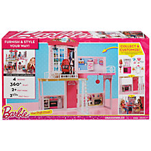 Buy Barbie Your Style House Online at johnlewis.com