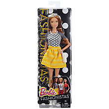 Buy Barbie Fashionistas Summer Doll Online at johnlewis.com