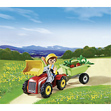 Buy Playmobil Eggs Boy with Children's Tractor Online at johnlewis.com