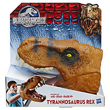 Buy Jurassic World Tyrannosaurus Rex Head Online at johnlewis.com
