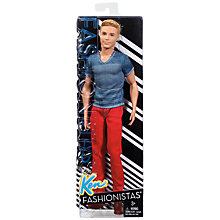 Buy Barbie Fashionista Ken Doll Online at johnlewis.com