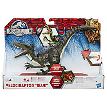 Buy Jurassic World Growling Attack Velociraptor 'Blue' Online at johnlewis.com