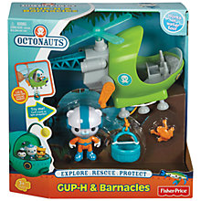 Buy Fisher-Price Octonauts Gup H & Barnacles Online at johnlewis.com