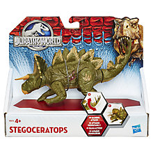 Buy Jurassic World Bashing Attack Stegoceratops Online at johnlewis.com