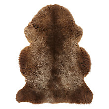 Buy John Lewis Natural Sheepskin Online at johnlewis.com