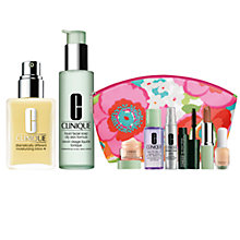 Buy Clinique Dramatically Different Moisturising Lotion+ and Liquid Facial Soap with FREE Clinique Bonus Time Makeup Bag Gift Online at johnlewis.com