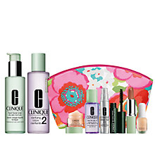 Buy Clinique Liquid Facial Soap and Clarifying Lotion 2 with FREE Clinique Bonus Time Makeup Bag Gift Online at johnlewis.com