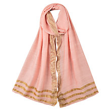 Buy East Border Scarf, Soft Blush Online at johnlewis.com