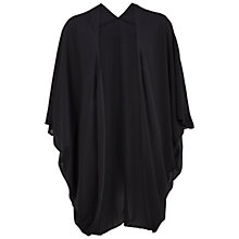 Buy Gina Bacconi Double Chiffon Shawl, Black Online at johnlewis.com