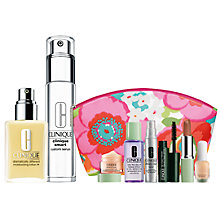 Buy Clinique Custom Smart Serum and Dramatically Different Moisturizing Lotion+ with FREE Clinique Bonus Time Makeup Bag Gift Online at johnlewis.com