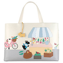 Buy Radley Market Day Leather Grab Bag, Multi Online at johnlewis.com